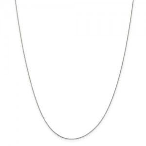White 14 Karat Chain Chain Type: Box Length: 16