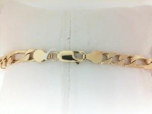 Yellow 14 Karat Bracelet Estate Sale 8.5 Inch
