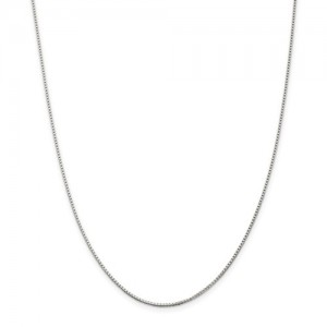 Sterling Silver 1.10Mm Box Chain Length: 18