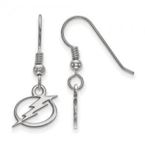 Sterling Silver Dangle Earrings Name: Nhl Lightning