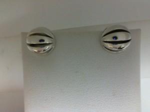 Sterling Silver Stud Earrings Name: Birdcage Earrings Serial #: 10Mm