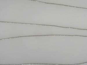 White 14 Karat Spiga 20 Chain