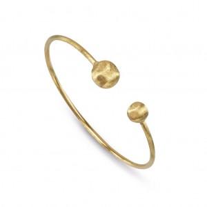 Marco Bicego: 18 Karat Yellow Gold Africa Cuff Bracelet