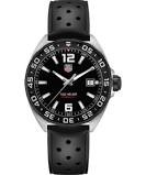 Tag Heuer: Stainless Steel 41mm  Formula 1 Quartz Watch Clasp: Buckle Finish: Brushed Dial Color: Black