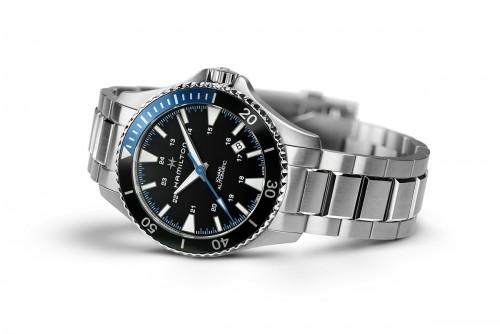 Hamilton: Stainless Steel  Automatic Khaki Navy Scuba 40mm Watch