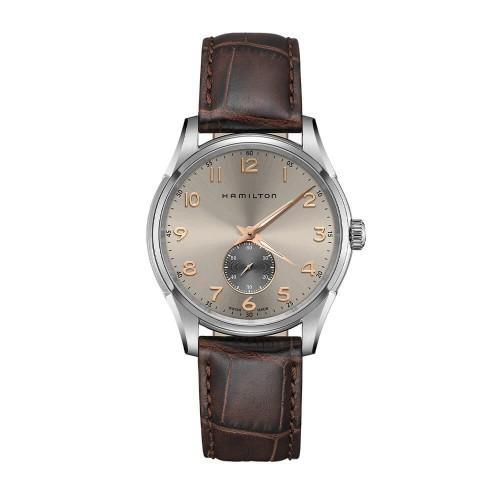 Hamilton: Stainless Steel Quartz Jazzmaster Thinline Watch