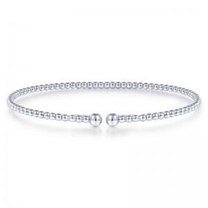 White 14 Karat Bracelet