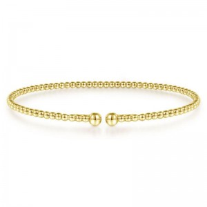 Yellow 14 Karat Bracelet