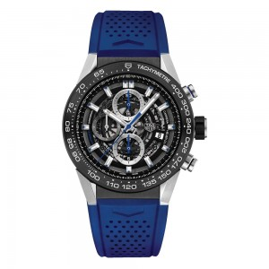 TAG HEUER CARRERA CALIBRE HEUER 01 - Blue Touch Edition