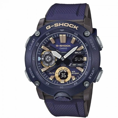 G Shock Digital Multi Function Watch Navy Resin
