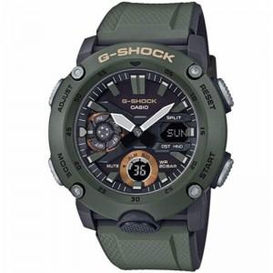 G Shock Digital Multi Function Watch Resin Green