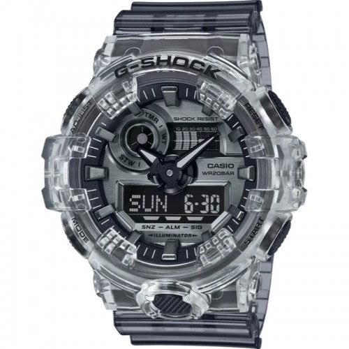 G Shock Digital Multi Function Watch Ad Resin Skeleton