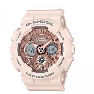 G-Shock Watch S Series/Steptracker Metalic Face Resin/Pink