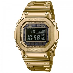 G Shock Stainless Steel Two Way Time Sinc Digital Watch