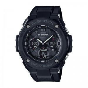 G Shock/ T Solar Digital Multi Function Watch Black Resin