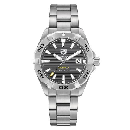 Aquaracer 300M Steel Bezel Calibre 5 Automatic Watch