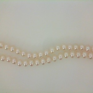 24 Inch 18Kt W/Gold 6 To 6.5 Mm Pearls A1 Matinee Length