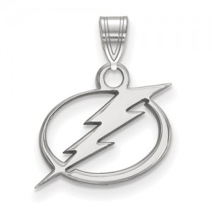 Sterling Silver Charm Charm Type: Nhl Lightning Charm