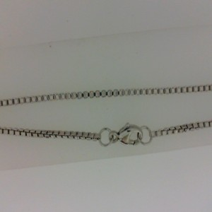 Sterling Silver Box Chain 18 1.5 Mm