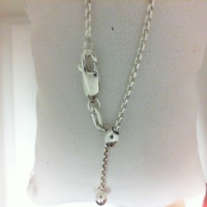 22 Adjustable Sterling Silver Chain