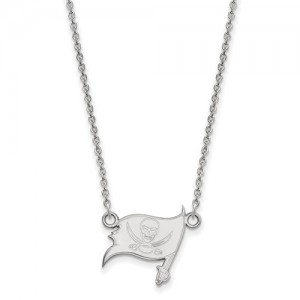 Sterling Silver Chain Length: 18 Name: Tampa Bay Small Necklace