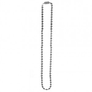 King Baby: Rose Motiff Sterling Silve Necklace Length: 34