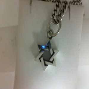 King Baby: Sterling Silver Star Of David With Chain Length: 18