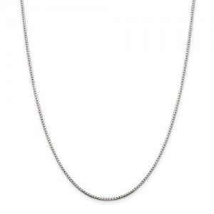 Sterling Silver 1.5Mm Box Chain Length: 20