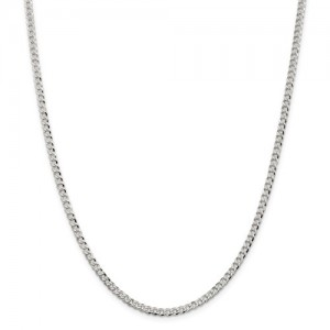 Sterling Silver Curb Chain Length: 16 Name: 3.2Mm