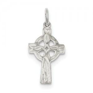Sterling Silver Pendant Charm Type: Celtic Cross