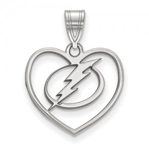 Sterling Silver Heart Pendant Lightning