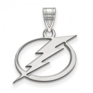 Sterling Silver Pendant Charm Type: Nhl Lightning Charm