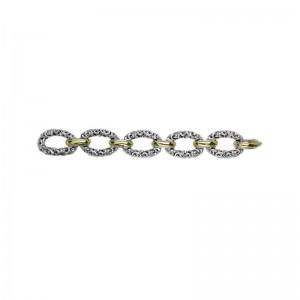 Two-Tone Sterling Silver & 18K Ivy Bracelet