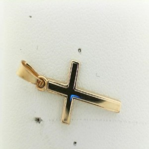 14 Karat Yellow Gold Small Cross