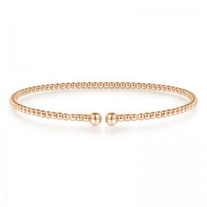 Rose 14 Karat Bracelet