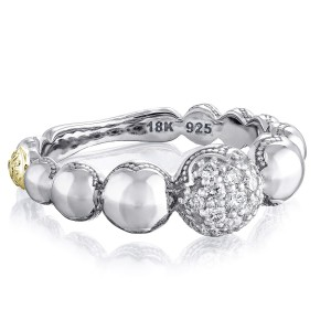 Pavé Cascading Dew Drops Ring