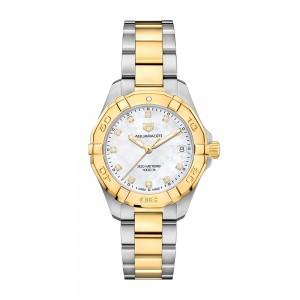 Aquaracer 300M Steel and Gold Quartz Watch