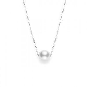 White 18 Karat Pendant Style Name: 10Mm Wssp Length: 18