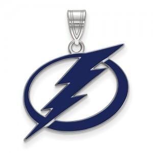 Sterling Silver Tampa Lightning Pendant
