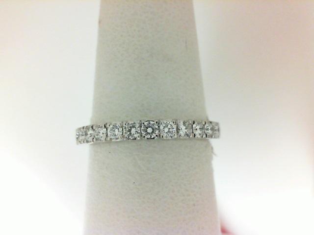 Forevermark: 18 Karat White Gold Wedding Band With 13=0.34Tw Round Forevermark Petite Diamonds