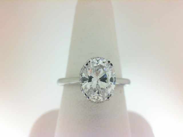 Verragio: 14 Karat Gold Tradition Semi-Mount Ring With .10Tw Round Diamonds