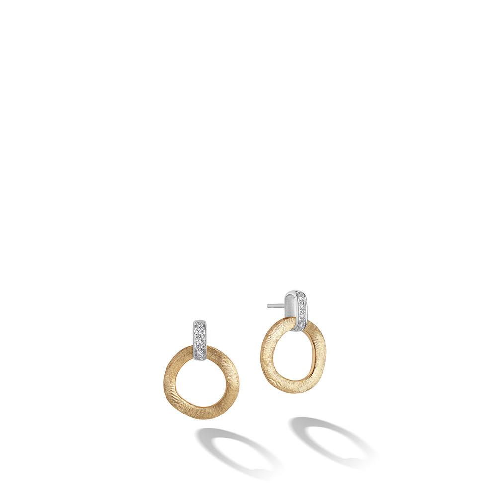 Marco Bicego Jaipur Link Diamond Earrings 0.08 Ct