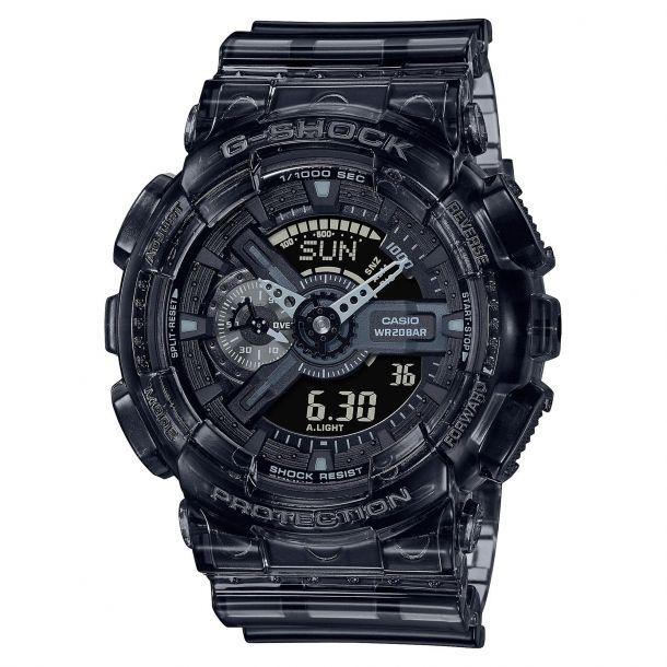 CASIO:  Casio G-Shock Classic Grey Transparent Watch