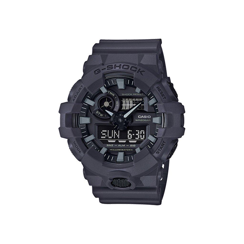 Casio G-Shock Analog-Digital Utility Gray Resin Watch(GA7UC-8A)