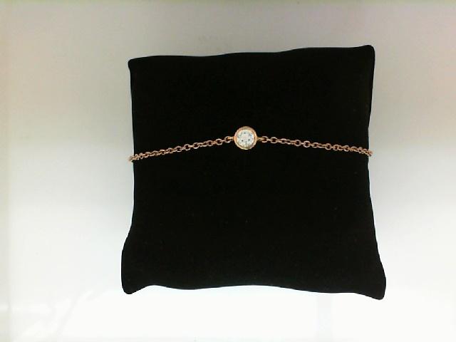 Forevermark: 18 Karat Rose Gold Tribute Bracelet With One 0.25Ct Fm Rnd I Vs1 Diamond Fm  7123221