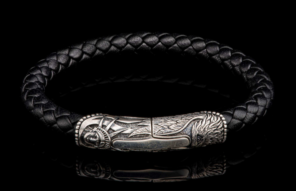 William Henry LC196 AS BLK YOSEMITE Bracelet