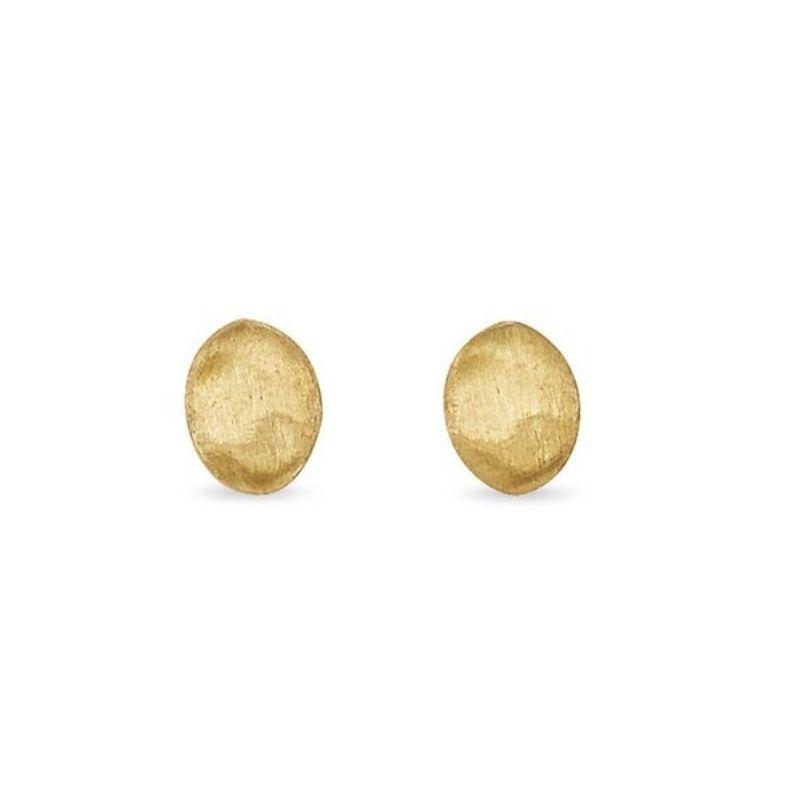 Marco Bicego: 18 Karat Yellow Gold Siviglia Stud Earrings