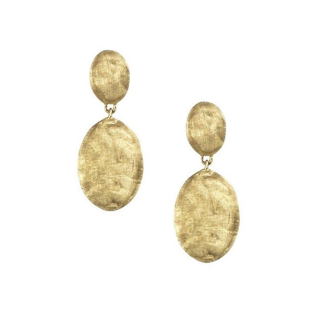 Marco Bicego: 18 Karat Yellow Gold Siviglia Earrings