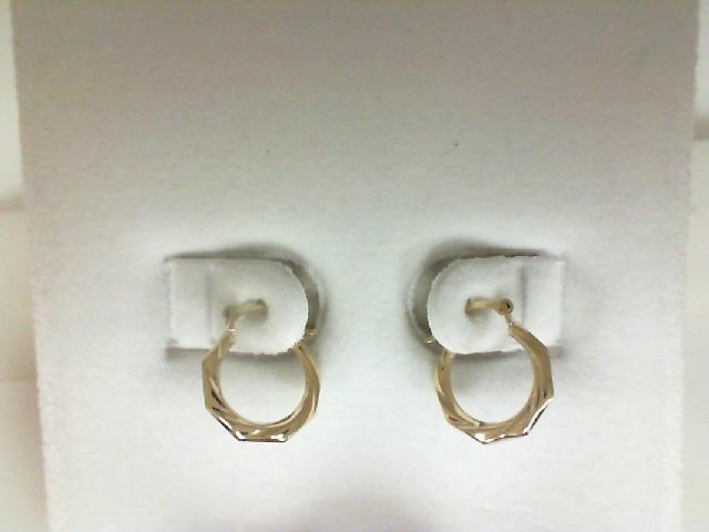 14 Karat Small Hoop Earrings