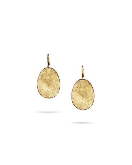 Marco Bicego 18 Karat Yellow Gold Lunaria Drop Earrings